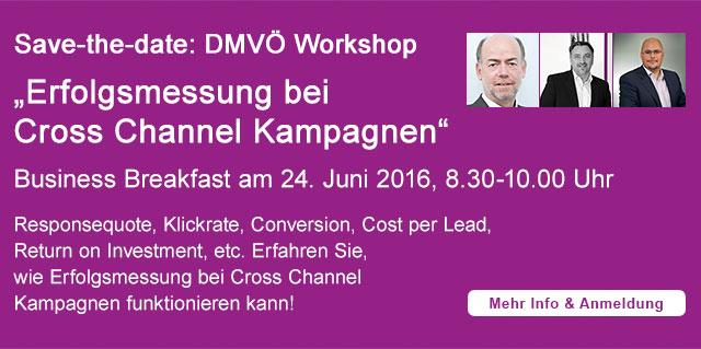 Save-the-date: DMVÖ Workshop